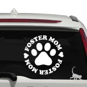 Foster Mom Decal