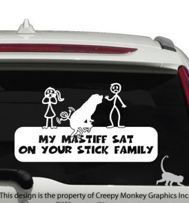MastiffOnStickFamily
