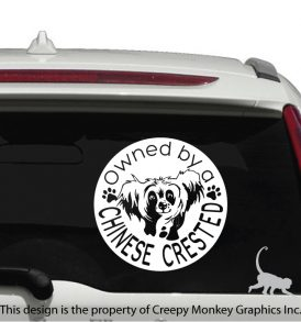 dog vehicle decal