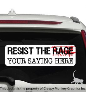 Anti Road Rage sticker