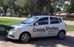 Creepy Monkey Car