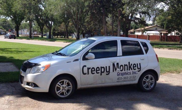 Creepy Monkey Car